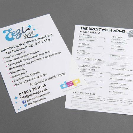 droitwich-sign-print-eezi-wipe-menus
